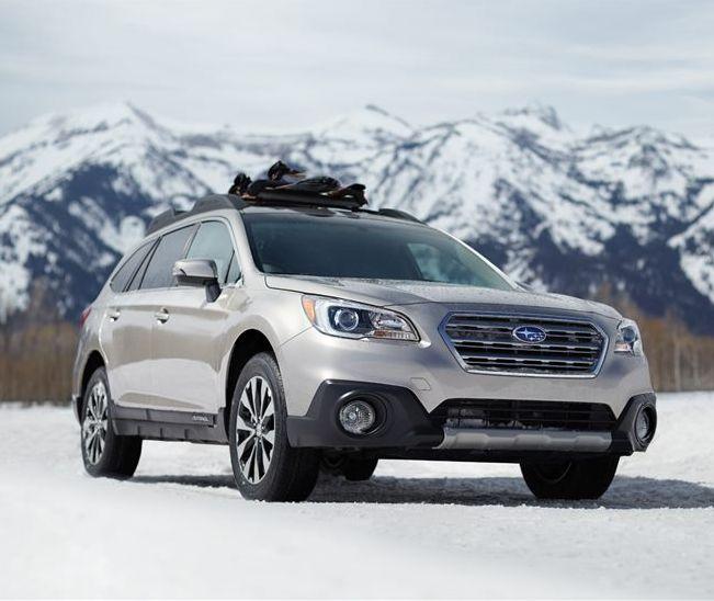 Silver Subaru Outback